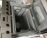 Продавам Miele - иноксова печка за вграждане от новия модел в комплект с керамичен плот четворка.