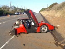 """Гръцки гражданин загина при катастрофа с Ferrari снощи на автомагистрала """"Хемус"""""""