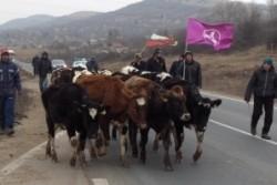 Протестът на фермерите продължава