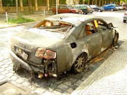 """Запалиха колата на управителя на денс-център """"Паша""""!"""
