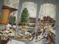 Изложба на рисунки върху стари керемиди ще бъде открита в Ботевград