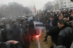 Осъдиха по бързото производство 37 арестувани на протеста в сряда