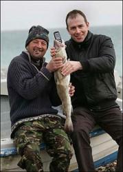 Nokia 1600 работи и след седмица в корема на риба