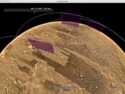 """Марс """"под лупа"""" в Google Earth"""