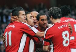 Арсенал на полуфинал след успех над Виляреал