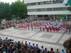 Младежкият духов оркестър получи почетен медал от кмета Георгиев