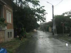 Паднало дърво прекъсна електричеството на цял квартал снощи