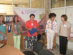 Официално бе открита кампанията срещу рак на гърдата в Ботевград
