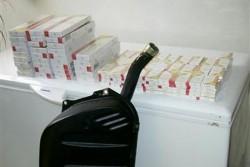 Цигари, скрити в резервоар, са били задържани на Калотина