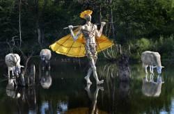 Скулпторът Павел Койчев представя новата си арт-провокация