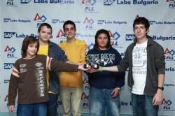 Български отбор на световното по роботика