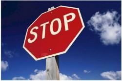 "Отново катастрофа заради неспиране на знак "" Стоп"""