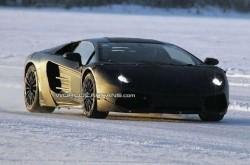 Заснеха Lamborghini Jota по време на тестове