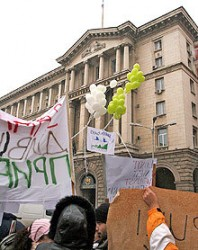 Искат от Първанов вето върху закона за митингите