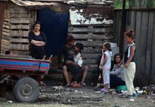 Безредици в ромската махала в Ихтиман