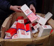 Българи в италиански арест за контрабанда на цигари