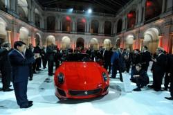 Представиха Ferrari 599 GTO с церемония в Модена
