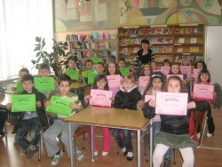 """Маратонът на четенето в ботевградската библиотека започна с приказката """"Най-хубавото"""""""