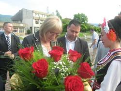 """Цецка Цачева стана кръстница на парк """"Ракитин"""""""