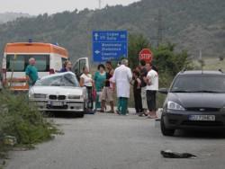 4 румънци ранени при катастрофа край Железница