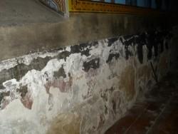 Текат ремонтни дейности в старата църква