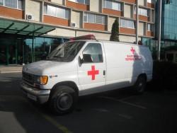 Етрополската болница се сдоби с високо проходима линейка