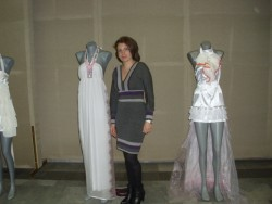 Станислава Комитска показа колекция от булченски рокли