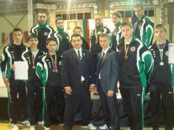 10 състезатели от Таек Кион спечелиха 11 медала