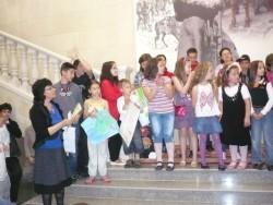 Голям интерес към изложбата на детски рисунки в Историческия музей