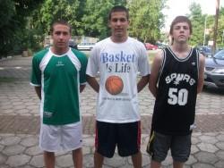 Трио от Ботевград със сребро от Streetball Cup