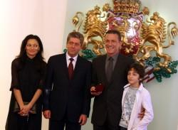 Президентът Първанов  награди Георги Младенов