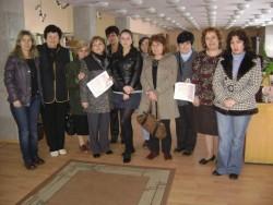 """58 човека се обучаваха по програма """"Глоб@лни библиотеки"""" през тази година"""