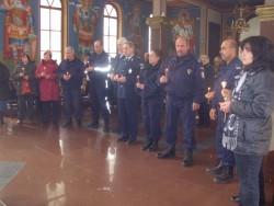 Полицейски служители и граждани почетоха паметта на хората, загинали при катастрофи