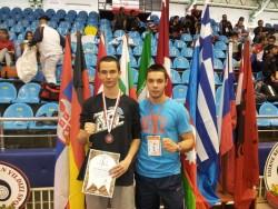 Станислав Стайков от Сунг Ри с бронз на турнира в Одрин