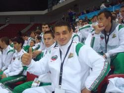 Пълен комплект медали за Борислав Витков