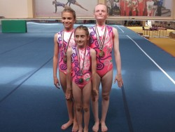 Акробатите ни с 6 медала от републиканското в Айтос