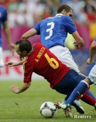 Евро 2012: Испания пак не можа да победи Италия