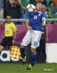 Евро 2012: Италия се справи с коралите ирландци