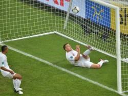 Евро 2012: Украйна надигра Англия, но загуби