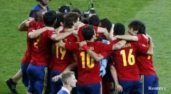 Хеттрик от титли за Испания