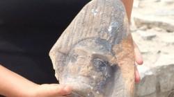 Откриха маска с изображение на Херакъл (снимки)