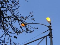 Граждани сигнализираха, че уличните лампи в Зелин светят и през деня