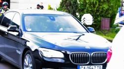 Полицейски ескорт за Лейди Гага (снимки)