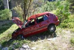 Катастрофа на магистралата. Двама пострадали