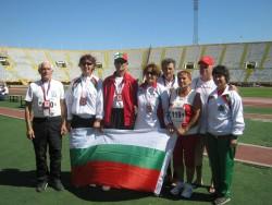Поля Велчева и Димитринка Андреева с медали от Балканиадата за ветерани