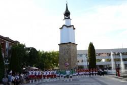 И БНТ с включвания от Ботевград за Дефилира на духовата музика