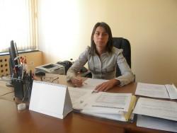 Брифинг на заместник-кмета Венета Гергова