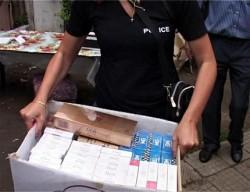 800 къса контрабандни цигари иззеха полицаи в гр. Етрополе