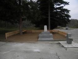 Паметникът в Лъга е готов за откриването