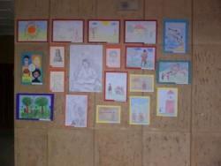 Изложба на детски рисунки по случай 135 години от Освобождението на гр. Етрополе